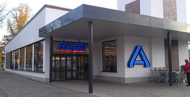 bitte recht freundlich aldi nord knipst in seinen neuen filialen das licht an. Black Bedroom Furniture Sets. Home Design Ideas