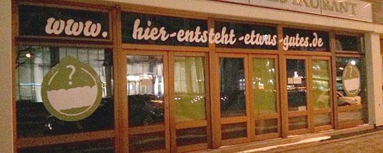 """Noch uneröffnet: Der künftige """"Emmas Enkel"""" in Essen"""