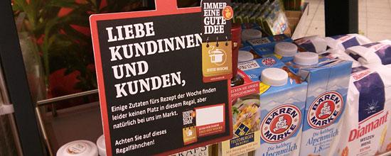 """Kaiser's-Rezeptkärtchen fürs """"Ideen-Regal"""""""