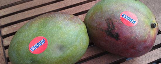 Mangos aus dem Supermarkt