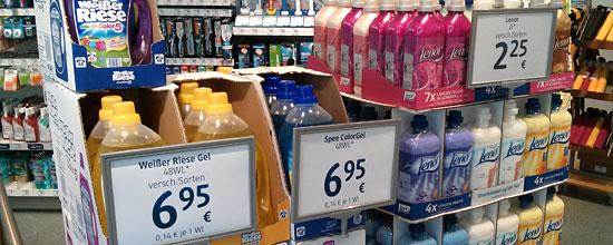 Preise bei dm enden auf 0 oder 5