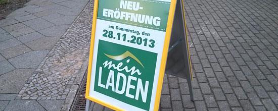 """Ohne Eröffnungsangebote: """"Mein Laden""""-Start in Berlin"""