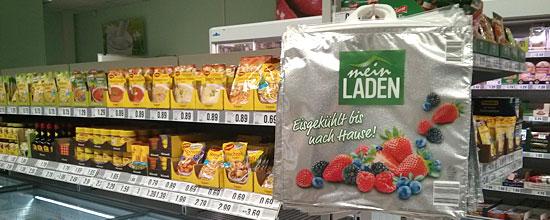 """Die Kühltüten sind auch schon gedruckt: Netto meint es ernst mit """"Mein Laden"""""""