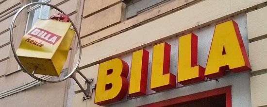 Billa-Markt in Wien