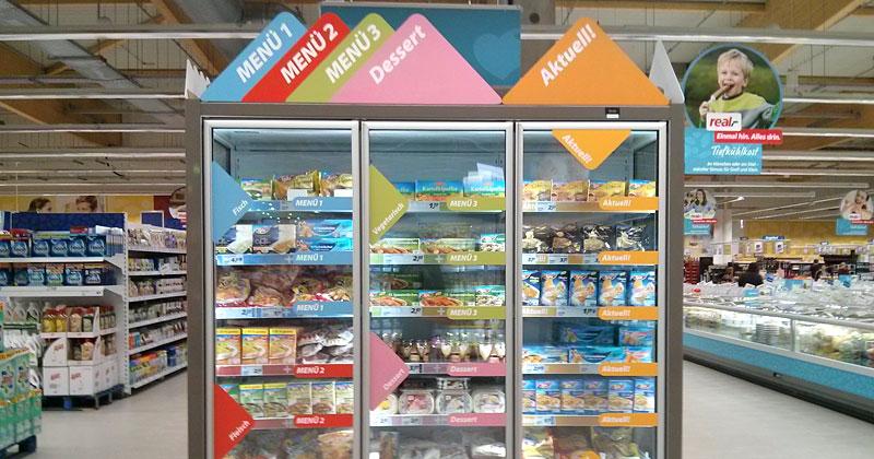 Real Markt Kühlschrank