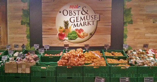 Wochenmarktzauber in der Obst- und Gemüse-Abteilung