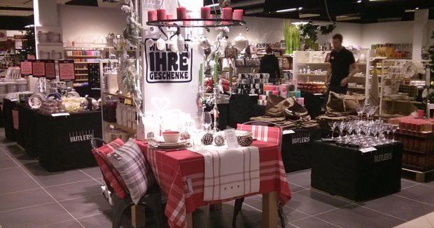 Wer Käse braucht, braucht auch Teller: Butlers-Shop im Rewe Center