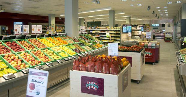 SuperBioMarkt in Dortmund: Sieht aus wie ein Supermarkt, ist aber Bio / Foto: (c) SuperBioMarkt