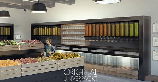 """Wie im richtigen Supermarkt soll's bei """"Original Unverpackt"""" Bio und Nicht-Bio geben / Foto: Original Unverpackt"""
