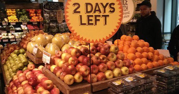"""""""Nur noch 2 Tage"""": Obstköder bei Whole Foods in London"""