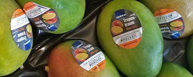 """Auf dem """"Tropentraum""""-Aufkleber sind die Früchte nochmal abgebildet, falls Sie vergessen haben, wie die aussehen"""