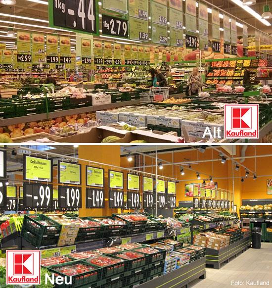 Übersichtlicher und trotzdem mehr Platz: Kaufland räumt bei Obst und Gemüse auf