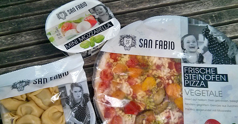 Tortelloni, Mozzarella, Steinofenpizza: San Fabio ist Penny neue Italienmarke
