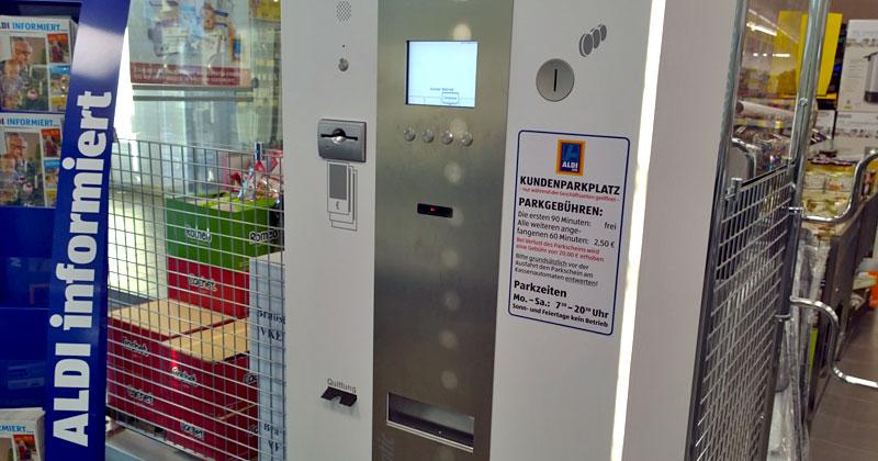 Wer zu lange vor der Gefriertruhe schlendert, wird künftig am Parkautomaten monetär bestraft