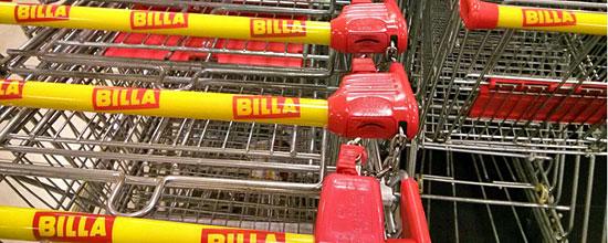 Wer nicht selbst einkaufen will, kann sich in Österreich von Billa beliefern lassen