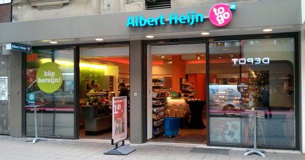 Frühere Albert-Heijn-to-Go-Filiale in Essen
