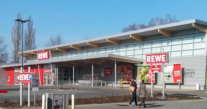 Rewe-Neubau in Berlin