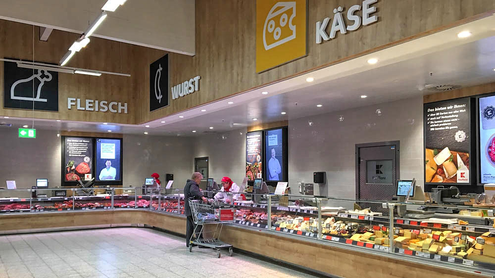 Kaufland Baut Um: Bitte Folgen Sie Dieser Farbe Unauffällig Zur Käsetheke    SupermarktblogSupermarktblog