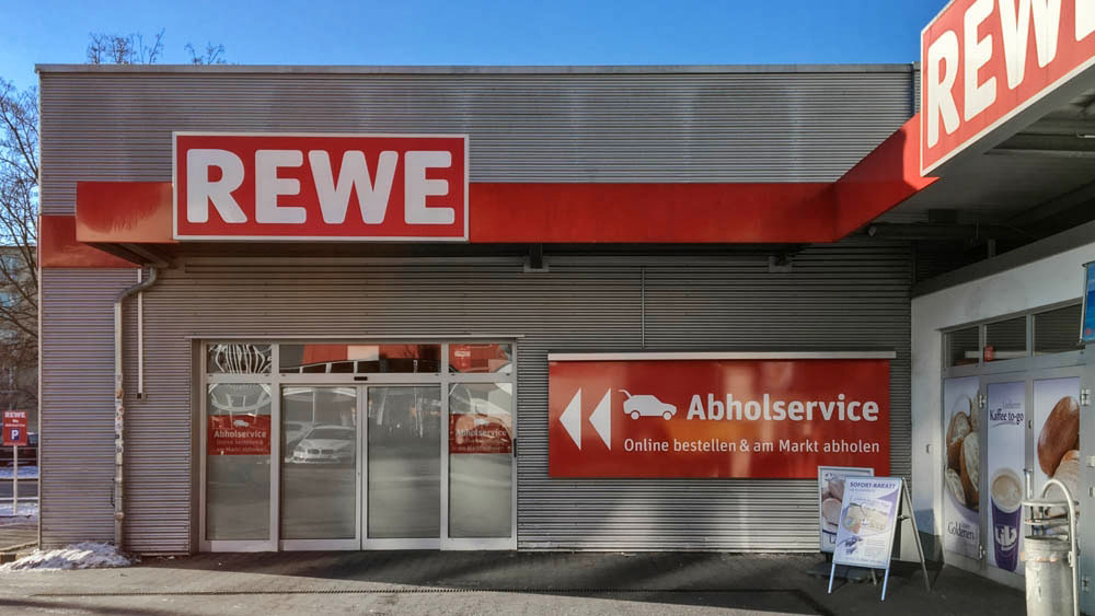 rewe erweitert seinen abholservice mit superm rkten in. Black Bedroom Furniture Sets. Home Design Ideas