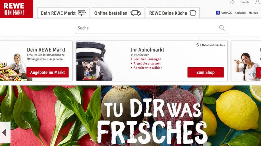 Rewe online bestellen