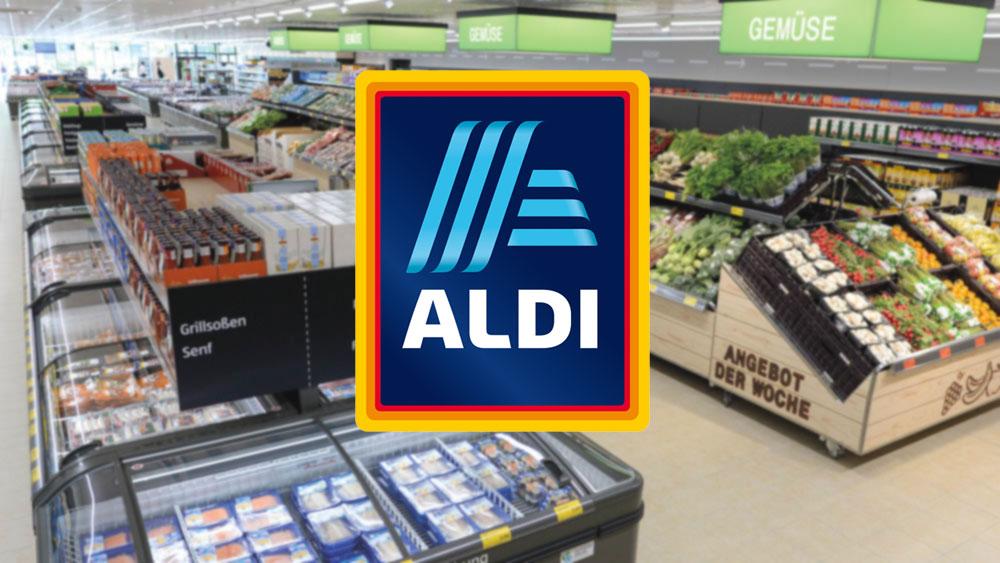 Aldi Süd Kämmt Sich Ein Blaues Schmalzlöckchen Ins Logo