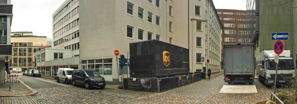 das ende der paketwagenpolonaise ups will die zustellung. Black Bedroom Furniture Sets. Home Design Ideas