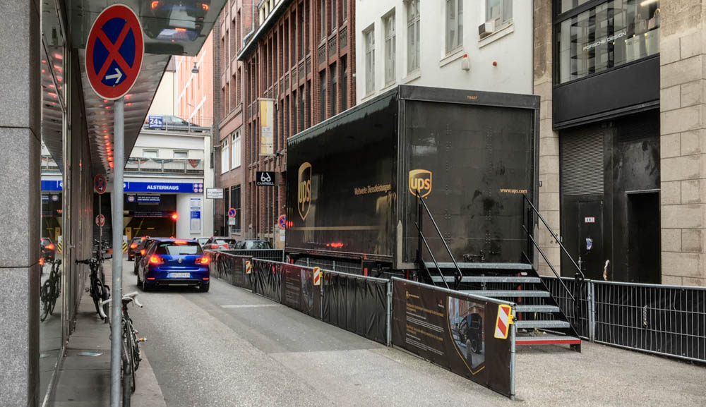 Ups Zustellung Verpasst : das ende der paketwagenpolonaise ups will die zustellung ~ Watch28wear.com Haus und Dekorationen