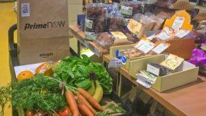Amazon, Basic und der große Bio-Lebensmittel-Lieferkorks mit Prime Now