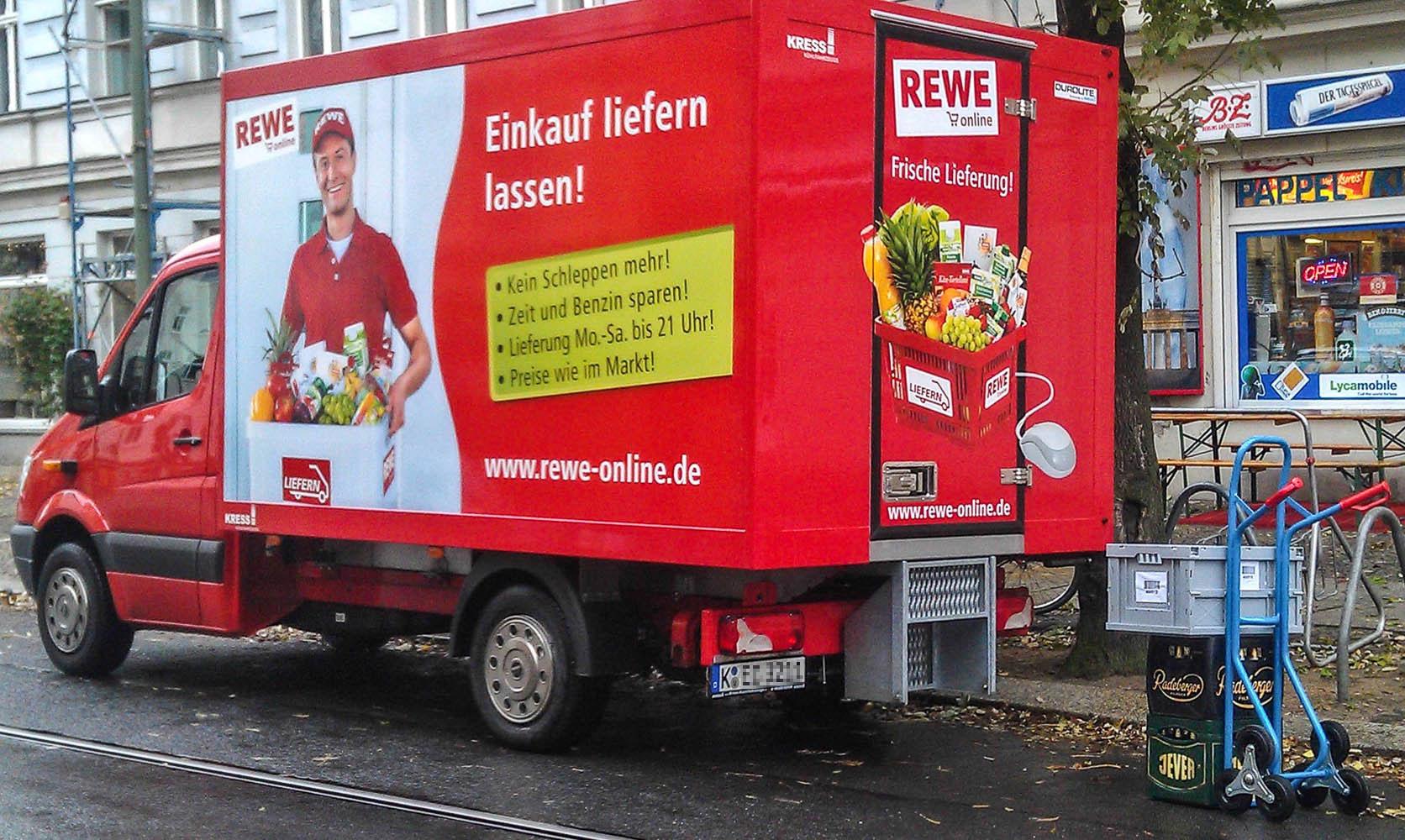 Wie Rewes Lieferservice seinen Frühstarter-Bonus verspielt ...