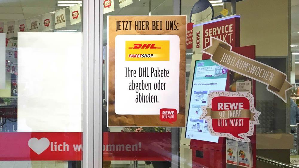 Rot Gelbe Koalition So Macht Rewe Seine Supermärkte Zu Dhl