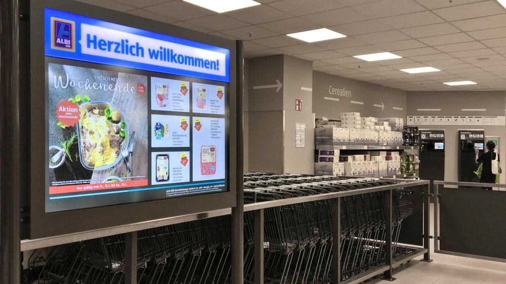 Aldi Kühlschrank Side By Side : Unterhaching mülheim walthamstow wie aldi süd seine läden im in