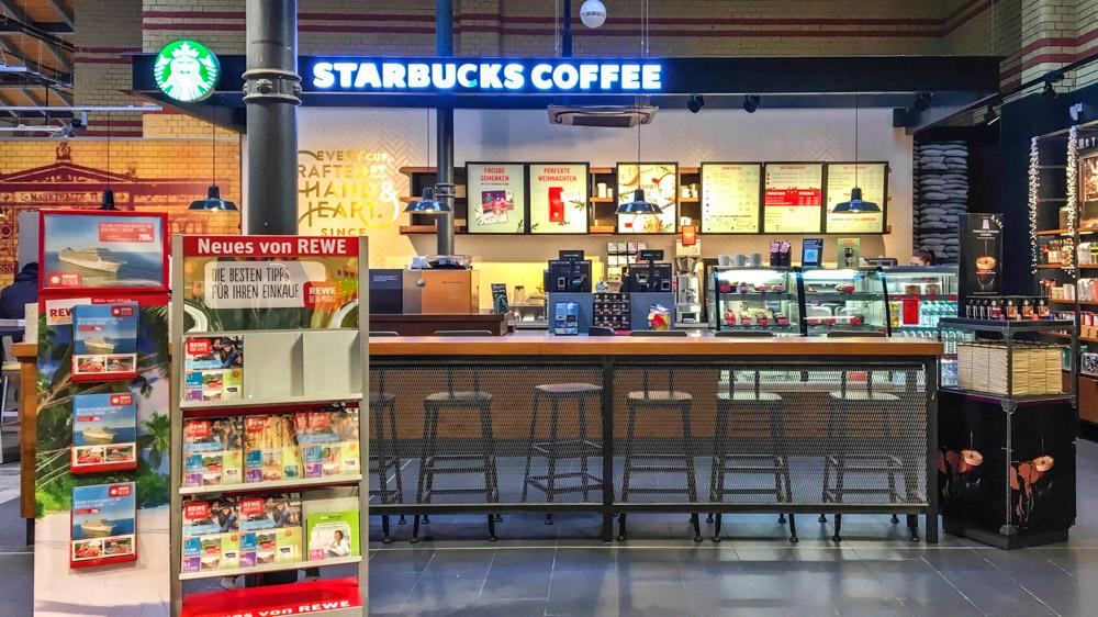 Kalter Kaffee: Starbucks probt bei Rewe schon wieder den Auszug ...