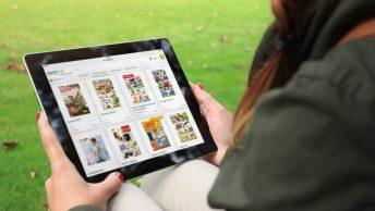 Digitale Prospekte auf dem Tablet (c) Offerista Group