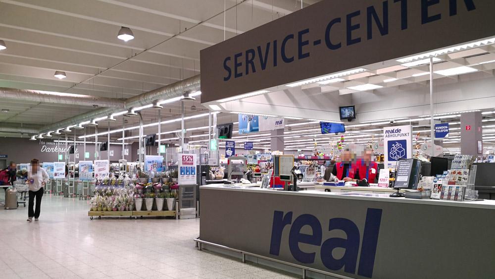 Bomann Kühlschrank Bei Real : Reals mogel modernisierung in dinslaken: dasselbe in grau