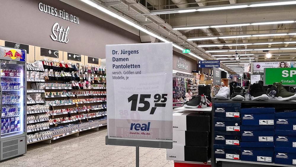 Mini Kühlschrank Real : Reals mogel modernisierung in dinslaken: dasselbe in grau