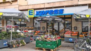 """Edekas Kleinflächenkonzept """"E xpress"""" in Süddeutschland: Einsatz mit X"""