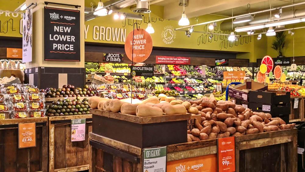 Amazon holt Whole Foods Market als Produktmarke nach ...