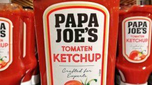 Der Papa wird's schon richten: Riskiert Edeka wegen Papa Joe's den Ketchup-Krieg mit Aldi?