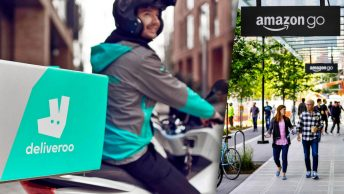 Foto [M]: Deliveroo, Amazon