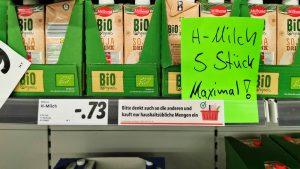Einkaufsverhalten im März: Wie die Hamsterei ihren Lauf nahm