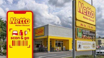 Auch Netto hat Scan & Go in petto: Test in zehn Filialen in Bayern