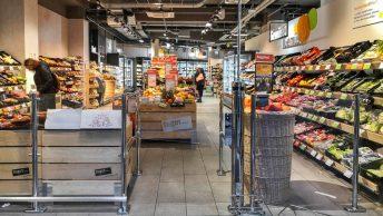 Tegut-Trio in der Frankfurter City: Die Frische-Snack-Bio-Stadtsupermärkte