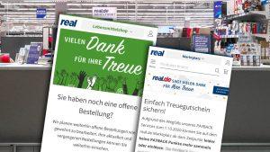 Kaufland vollzieht Übernahme: Real.de verabschiedet sich vom Lebensmittelshop und Payback [Update]