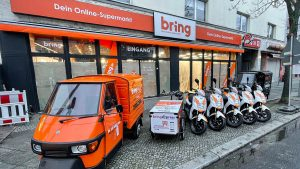 Lebensmittel in 30 Minuten: Bring startet als Gorillas-Herausforderer in Berlin