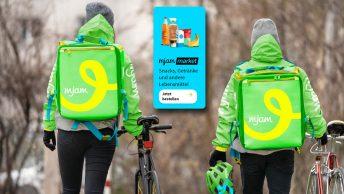 Start für Mjam Market in Österreich: Delivery Hero wird zum Sofortlieferanten für Lebensmittel