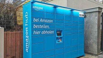 Locker werden zu Prime-hellblauen Amazon Hubs, Probleme mit der DHL Packstation Kompakt